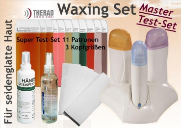 Waxing-Test-Set-Master  mit 3er-Wachsstation